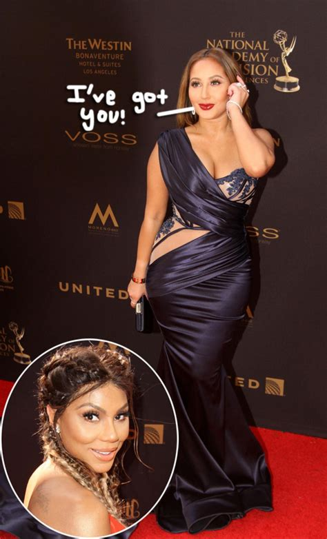 Adrienne Bailon Gets Real About Her Feelings For Tamar