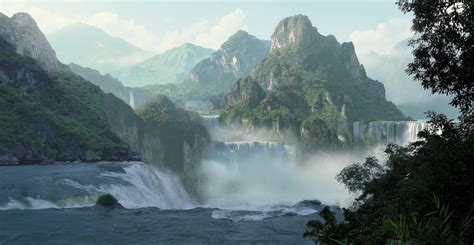 Learning Concept Art and Matte Painting: 3D Matte Painting
